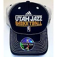 Utah Jazz Velcro Back Adidas Hat - Osfa - NC37Z