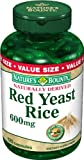 Natures Bounty Red Yeast Rice 600mg / 180 Capsules