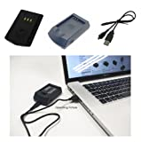 PowerSmart Digital Camera/Cell Phone/ Mobile Phone USB Battery Charger/Power Adapter for UK Sanyo Xacti DSC-J Series Xacti DSC-J4, Xacti DSC-J4K, Xacti DSC-J4P, Xacti DSC-J4S Sanyo Xacti VPC-C Series Xacti VPC-C1, Xacti VPC-C1EX, Xacti VPC-C4, Xacti VPC-