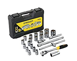 Stanley STMT72795-8 1/2 inch 24-Pieces Drive Metric Socket Set