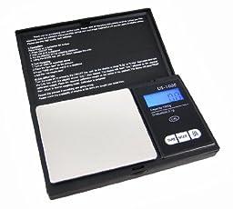 1000 X 0.1 Gram Backlit Digital Pocket Scale Scales by US Balance