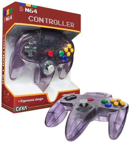 Cirka N64 Controller, Atomic Purple - Nintendo 64