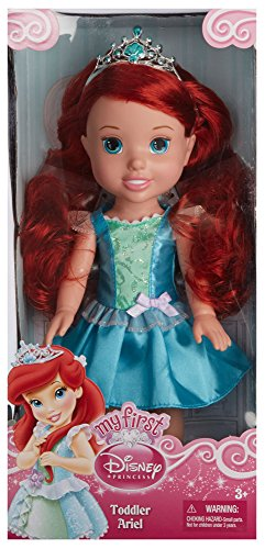 "13"" Disney Princess Toddler Doll - Ariel front-10199"