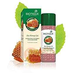 Biotique Bio Honey Gel Hydrating Foaming Cleanser, 120ml