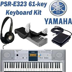 yamaha psr e323 61 key portable electronic. Black Bedroom Furniture Sets. Home Design Ideas