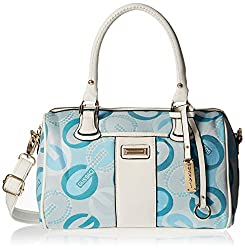 Gussaci Italy Women's Handbag (Blue) (GC604)