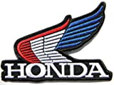 Honda Wing Logo Polo T-Shirt jacket Patch Sew Iron on Embroidered Sign Badge Logo Motogp