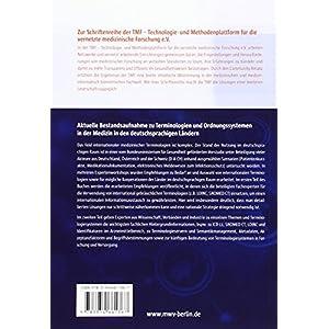 Terminologien und Ordnungssysteme in der Medizin: Standortbestimmung und Handlungsbedarf in den deut