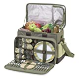 Search : Deluxe 4-Person Picnic Cooler with Wheels