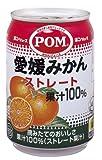 (お徳用ボックス) ポン 愛媛みかんストレート100% 280g×24本