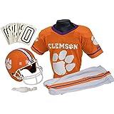 Franklin Sports NCAA Clemson Tigers Deluxe Youth Team Uniform Set, Medium