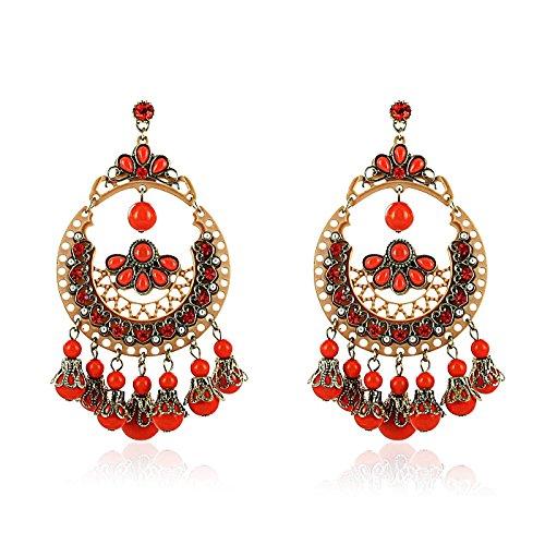 fashionvictime-woman-earrings-tabasco-base-metal-resin-crystal-ethnic-jewellery