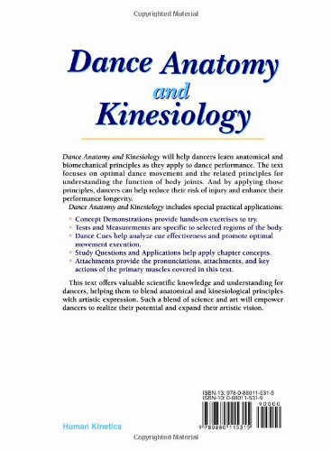 Dance Anatomy And Kinesiology Dance Anatomy And 2788599 - pacte ...