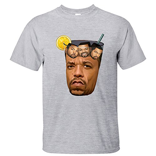 SKKE Men's Ice Cube Got Tea Music Band T-Shiirt grey M (Got Ice compare prices)