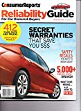 img - for Consumer Reports - RELIABILITY GUIDE For Car Owners & Buyers. Premiere Issue. December 2014 book / textbook / text book