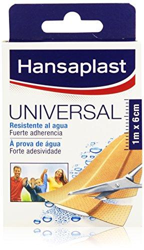 Hansaplast–Universal Streifen 1m x 6cm–wasserdicht