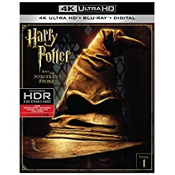 Harry Potter and the Sorcerer's Stone [4K Ultra HD + Blu-ray]