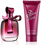 RICCI RICCI by Nina Ricci Gift Set for WOMEN: EAU DE PARFUM SPRAY 2.7 OZ & BODY LOTION 3.4 OZ