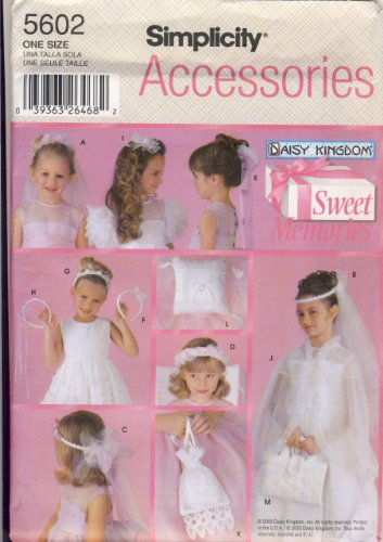 Simplicity Sewing Pattern 5602 - Use to Make - Child