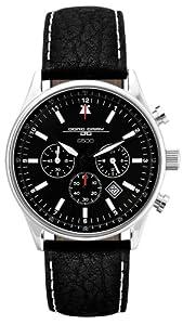 Jorg Gray Herren JG6500 Gedenkausgabe Chronograph Quarz Leder JG6500