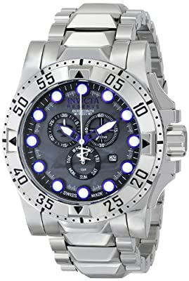 Invicta Men's 15326 Excursion Analog Display Swiss Quartz Silver Watch