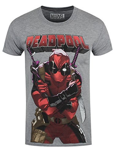 Maglietta Deadpool T Shirt Big Print Size S Rock Off