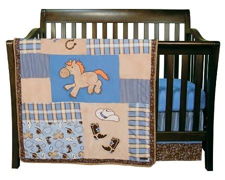 Trend Lab Cowboy Baby Crib Bedding And Decor Baby