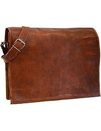 Pranjals Housegenuine Leather Hand Held Messenger Bag For Unisex Size H(11)*L(13)*W(4)