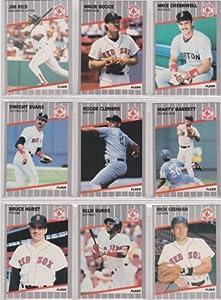Boston Red Sox 1989 Fleer Baseball Team Set (Wade Boggs)
