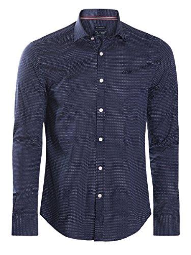 Emporio Armani -  Camicia da cerimonia  - Uomo blu XXL