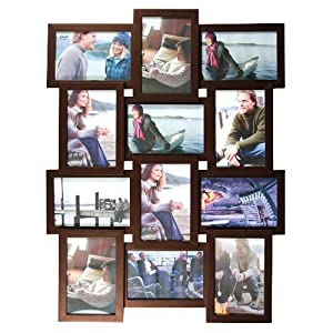 Amazon.com - nexxt Array Collage Wall Frame, Holds Twelve