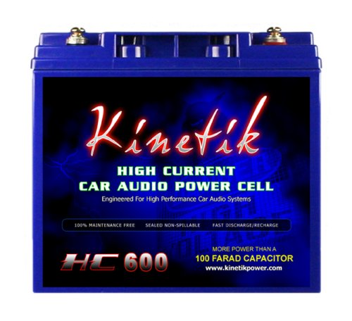 Kinetik HC600 600 Watt 12 Volt Power Cell Battery