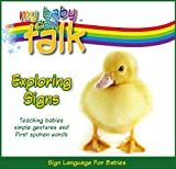 51pL7EP3DOL. SL160  My Baby Can Talk   Exploring Signs Board Book