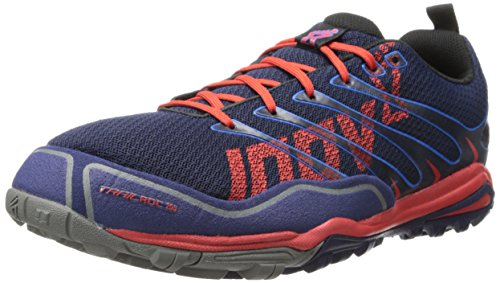 Inov-8 Men's Trailroc 255 Running Shoe,Navy/Blue/Red,9.5 E US/11 E US Women's