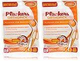 Plackers Orthopick Flosser for Braces/2pk