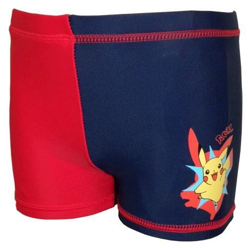 Boxer da bagno, motivo: Pokémon rosso 3 anni