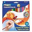 Prang Colored Pencils, 3.3MM Regular Core, 7-Inch Long, 48 Color Set DIX22480