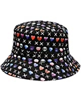 City Hunter Emoji 100 Bucket Hats - Multiple Colors
