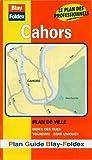 echange, troc Plans Blay Foldex - Plan de ville : Cahors (avec un index)