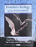 img - for Frontiers in Ecology and the Environment: Economic Value of Pest Control by Bats; Long-distance Seed Dispersal Via Sheep; Gaps in Marine Conservation in California (Vol. 4 No. 5) book / textbook / text book
