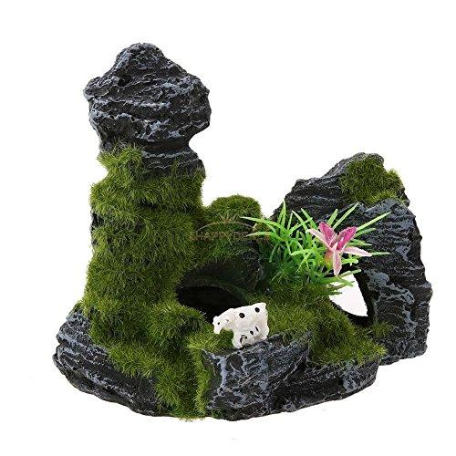 new-aquarium-fish-tank-ornament-rockery-mountain-cave-landscape-underwater-decor-6agreen-set36