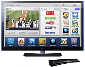 LG Infinia 50PZ750 50-Inch 1080p 600 Hz Active 3D THX Certified Plasma HDTV with Smart TV (2011 Model)