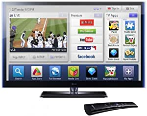 LG Infinia 50PZ950 50-Inch 1080p 600 Hz Active 3D THX Certified Plasma HDTV with TruBlack Filter and Smart TV