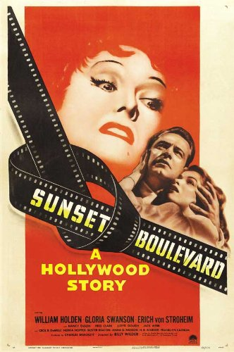 Sunset Blvd. - Movie Poster - 11 x 17