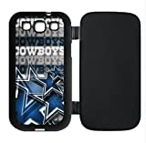 Samsung Galaxy S3 S III Flip case provide full protection with Dallas Cowboys theme designed by hiphonecases