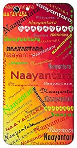 Naayantara (Star Of Our Eyes) Name & Sign Printed All over customize & Personalized!! Protective back cover for your Smart Phone : Apple iPhone 5/5S
