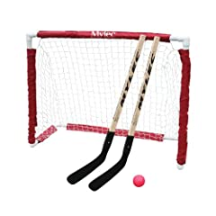 Buy Mylec Jr. Hockey Goal Set, White by Mylec