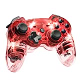 Afterglow Wireless Controller, Red - PlayStation 3