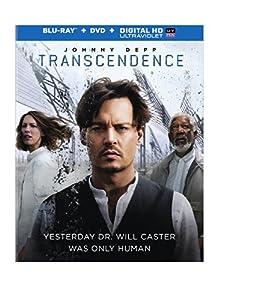 Transcendence (Blu-ray + DVD + Digital HD UltraViolet Combo Pack) by Warner Home Video