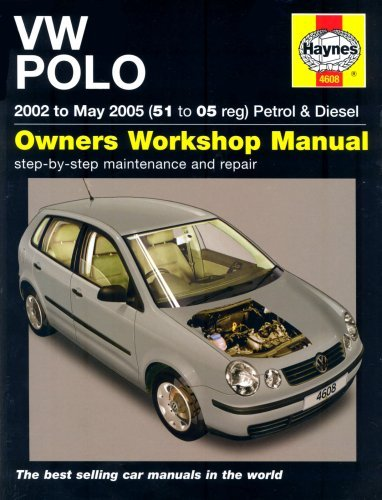 VW Polo Petrol and Diesel: 2002 to 2005 (Service & repair manuals) by R. M. Jex (12-Sep-2014) Hardcover